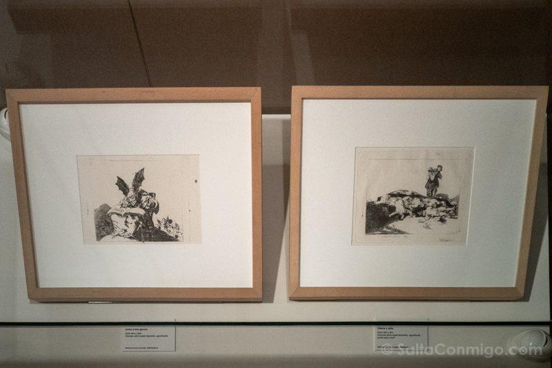 Goya Madrid Biblioteca Nacional Contra Bien General Enterrar Callar
