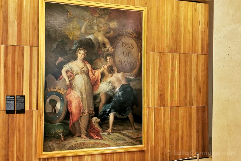 Goya Madrid Museo Historia Alegoria Madrid