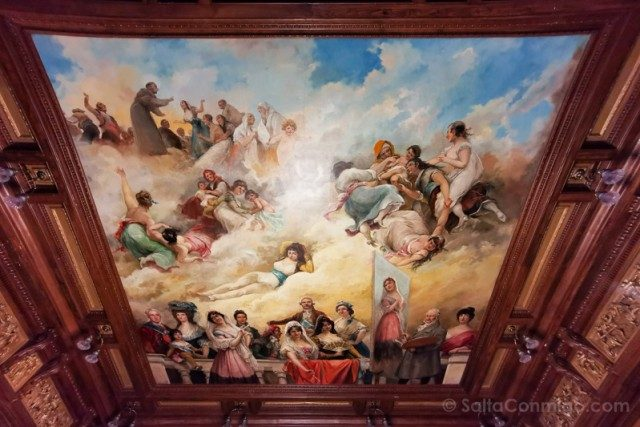 Goya Madrid Museo Lazaro Galdiano Techo