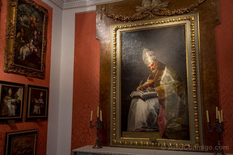 Goya Madrid Museo Romanticismo San Gregorio Magno