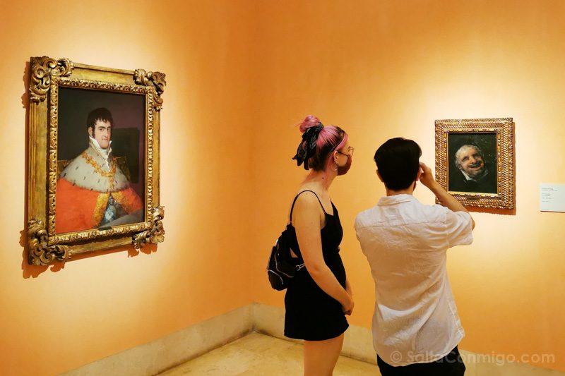 Goya Madrid Museo Thyssen-Bornemisza Cuadros