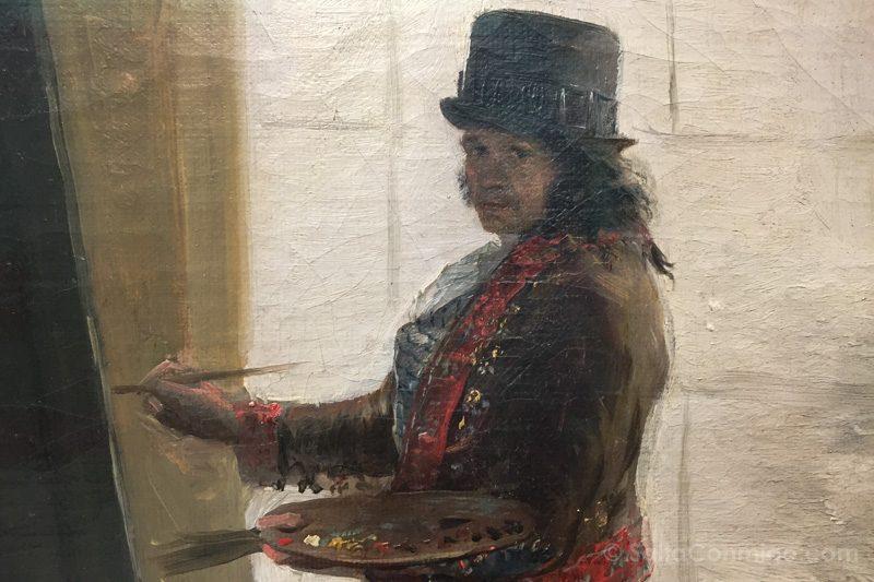Goya Madrid Real Academia Bellas Artes San Fernando Retrato Velas