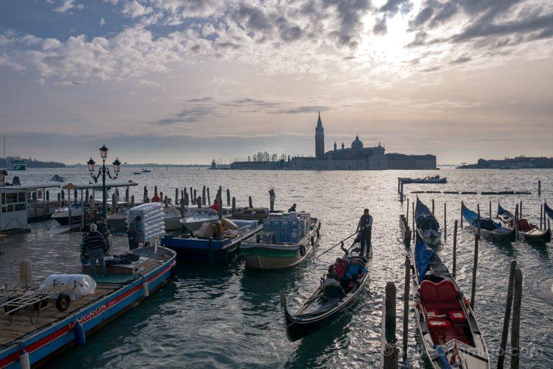 Miradores Venecia Ponte Paglia San Giorgio Maggiore