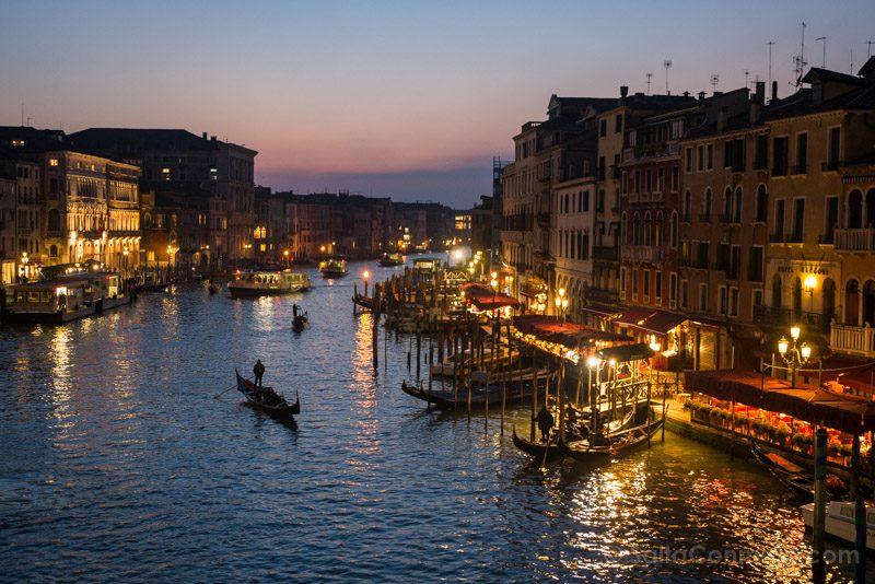 Miradores Venecia Ponte Rialto Hora Azul