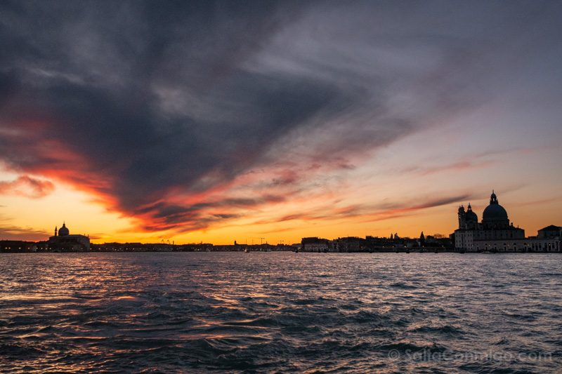 Miradores Venecia San Giorgio Maggiore Atardecer