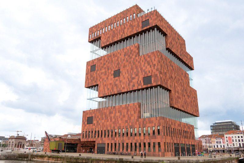 Museos de Amberes MAS Exterior