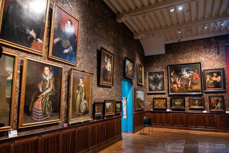 Museos de Amberes Mayer van den Bergh Sala
