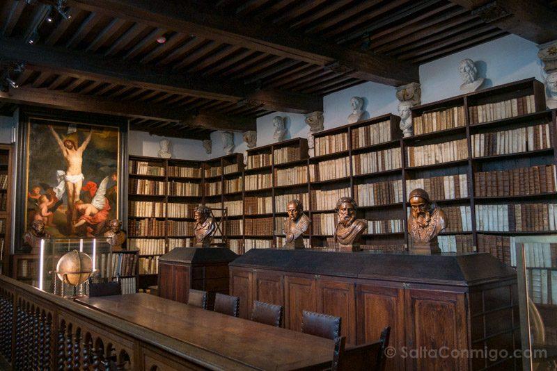 Museos de Amberes Museo Plantin-Moretus Biblioteca