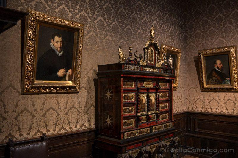 Museos de Amberes Museo Plantin-Moretus Retrato Rubens