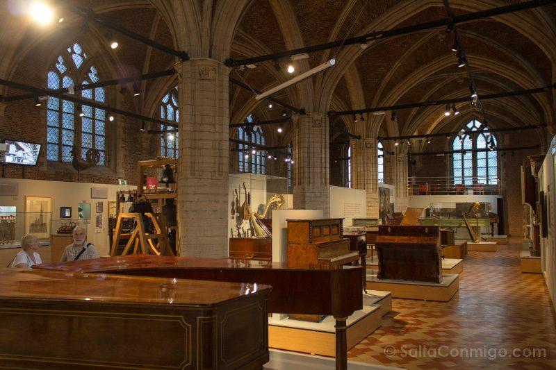 Museos de Amberes Museum Vleeshuis klank van de stad