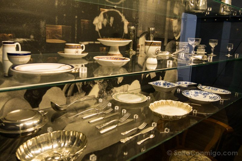 Museos de Amberes Red Star Line Cuberteria