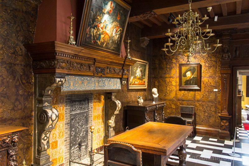 Museos de Amberes Rubenshuis Autorretrato