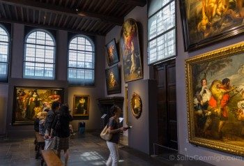 Museos de Amberes Rubenshuis Taller