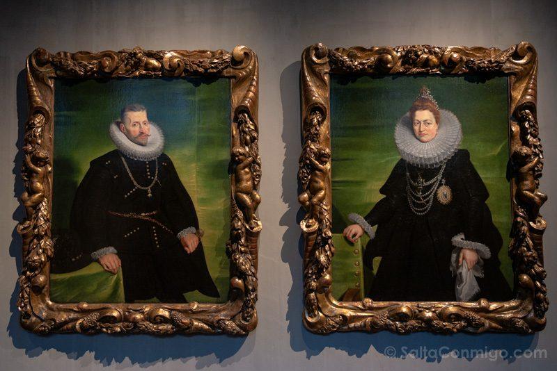 Museos de Amberes Snijders & Rockoxhuis Retratos Rubens