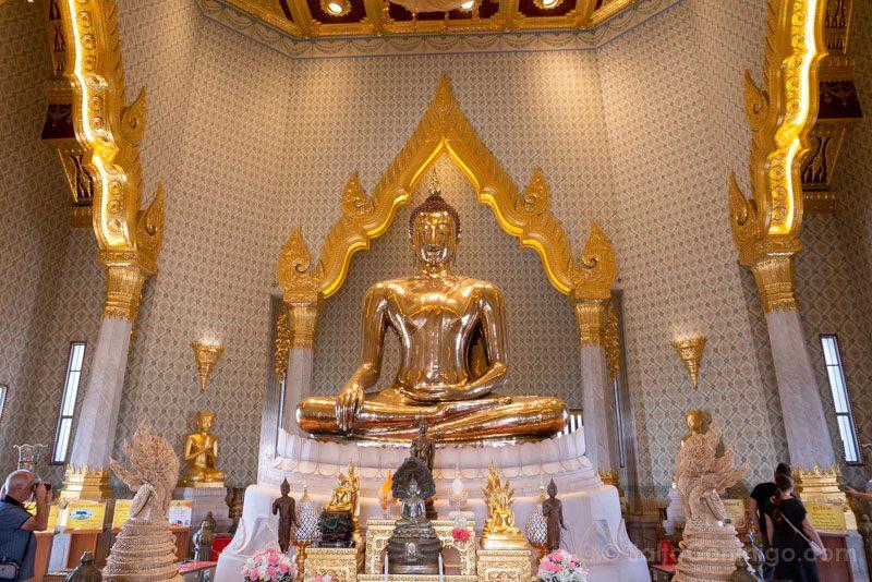 Que Ver En Bangkok Buda Oro Wat Traimit