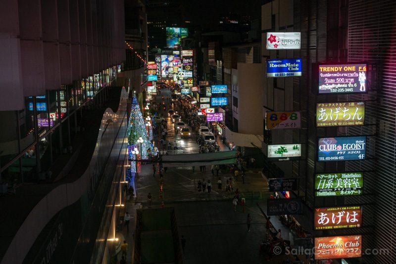 Que Ver En Bangkok China Town Noche