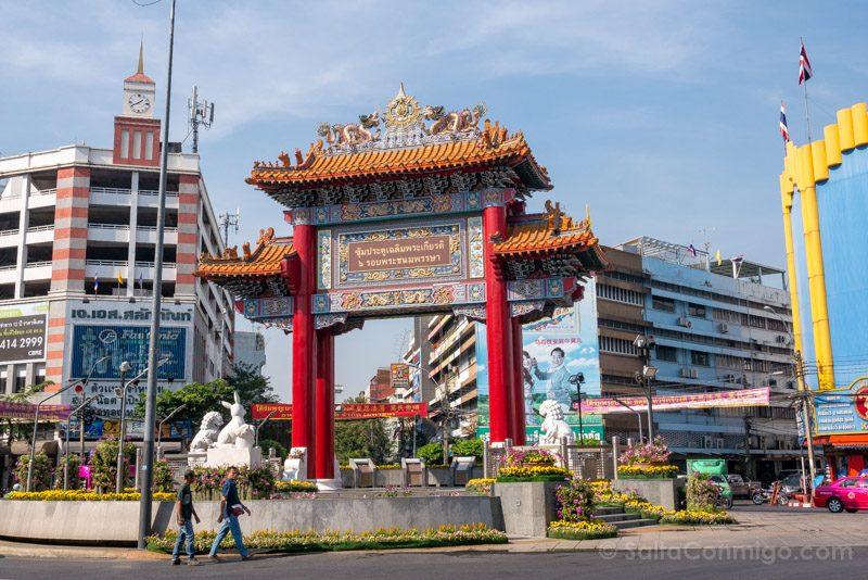 Que Ver En Bangkok China Town Puerta