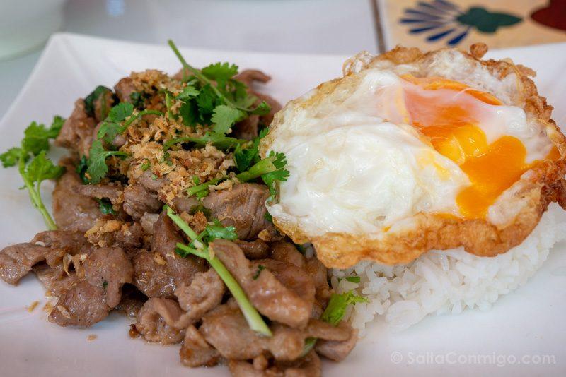 Que Ver En Bangkok Comida Restaurante