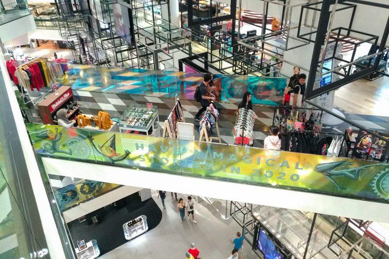 Que Ver En Bangkok Interior Centro Comerciall