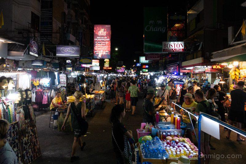 Que Ver En Bangkok Khaosan Road Noche