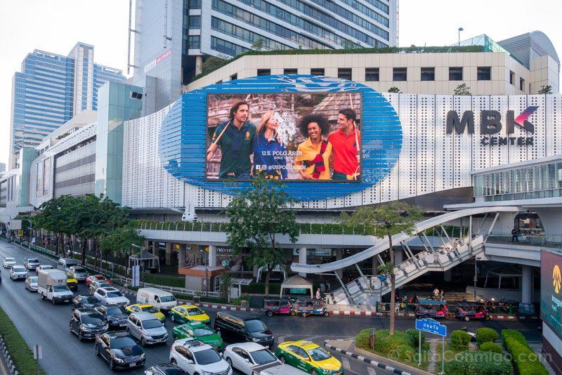 Que Ver En Bangkok MBK Fachada