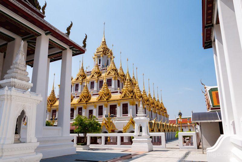 Que Ver En Bangkok Wat Ratchanatdaram