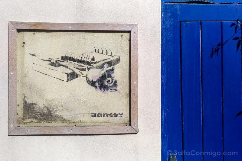 Ruta Grafiti Bristol Banksy Rose Trap