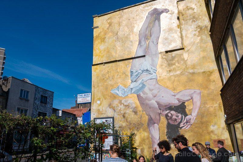 Ruta Grafiti Bristol Cosmo Sarson Jesus Breakdance