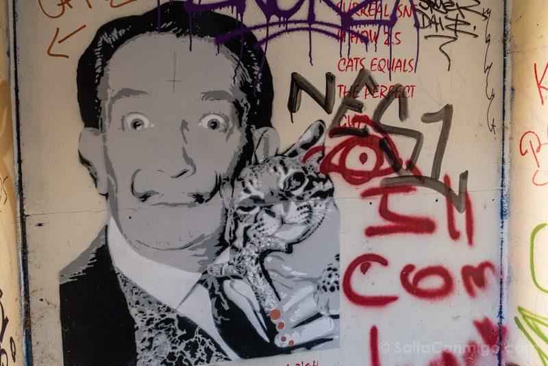 Ruta Grafitia Bristol Leonard Lane Dali