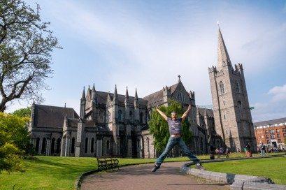 Catedrales Dublin San Patricio Exterior Salto