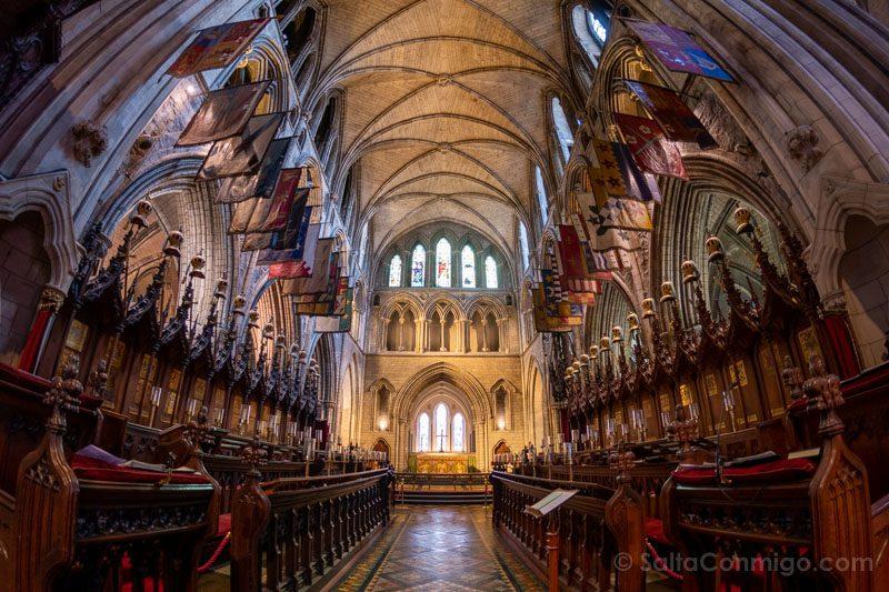 Catedrales Dublin San Patricio Interior Coro