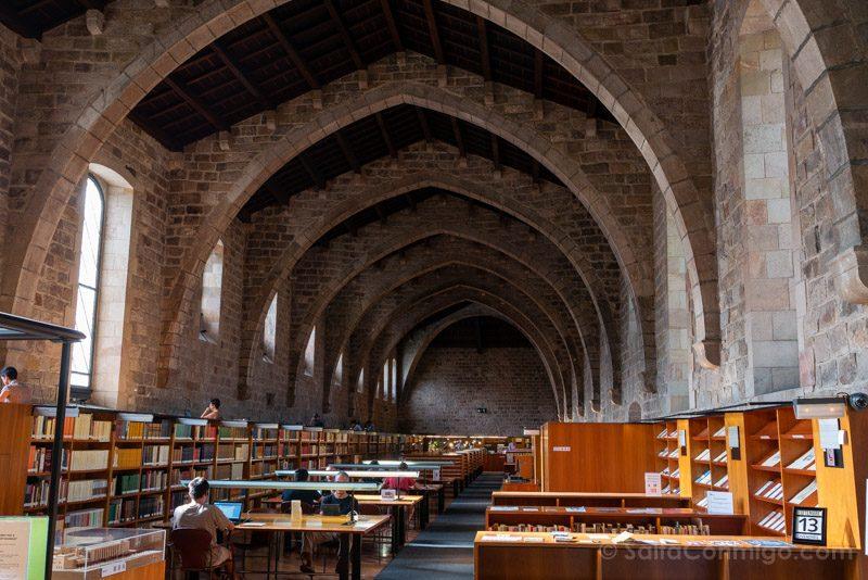 Hospital Santa Creu Raval Biblioteca Catalunya