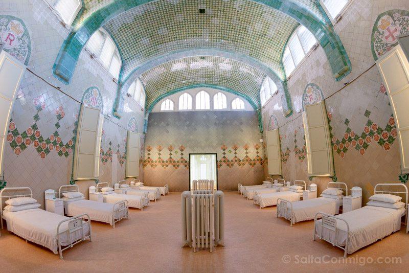 Hospital Santa Creu Sant Pau Modernista Pabellon Sant Rafael