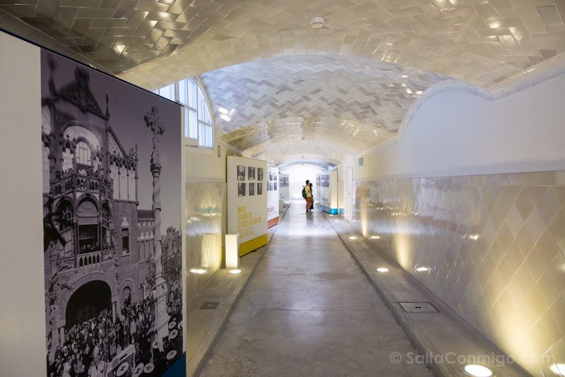 Hospital Santa Creu Sant Pau Modernista Tunel