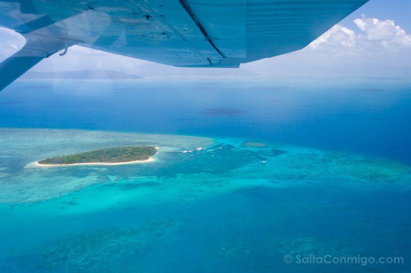 Momentos Viaje Australia Gran Barrera Coral Avioneta