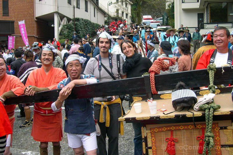 Momentos Viaje Desfile Hakone Japon