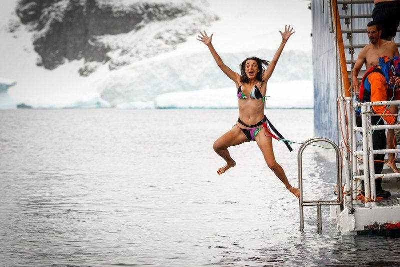 Momentos Viaje Polar Plunge Sara