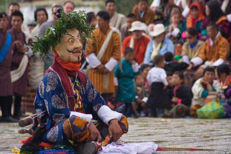 Momentos Viaje Tsechu Paro Butan