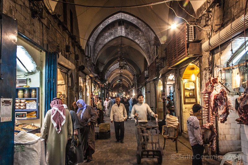 Momentos Viaje Zoco Alepo Siria