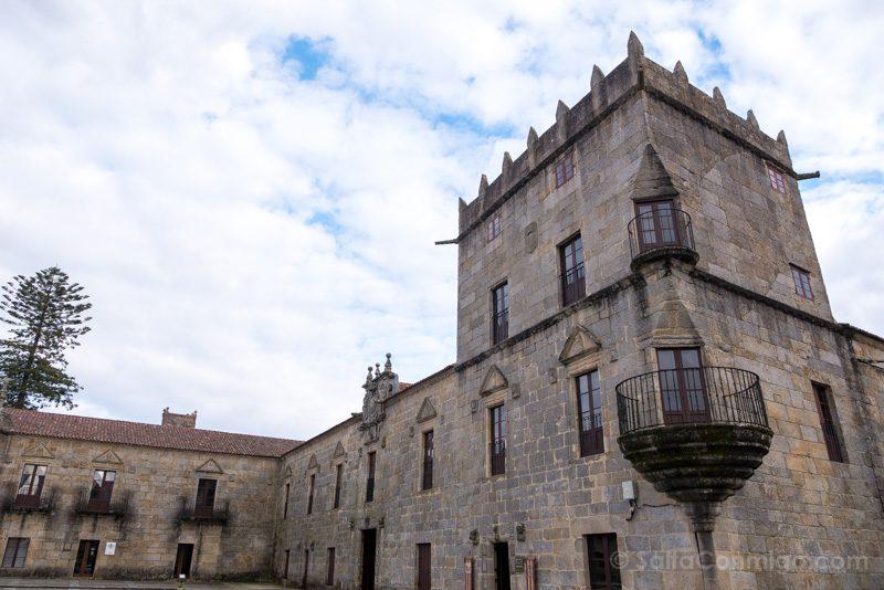 Palacio Fefinanes Pazo Fefinans Torre Balcones