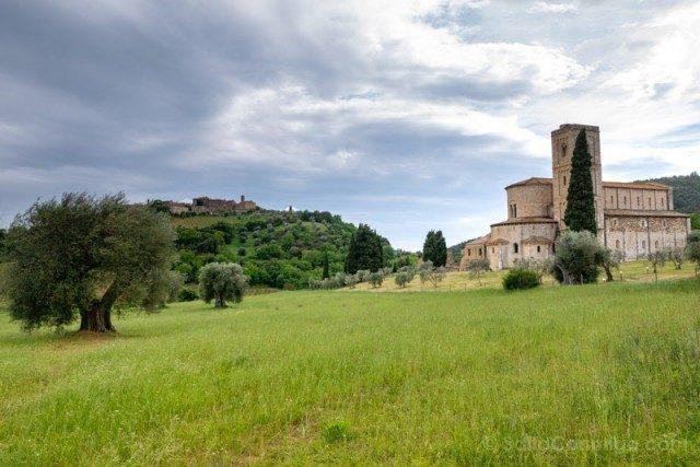 Pueblos Toscana Abadia Sant Antimo