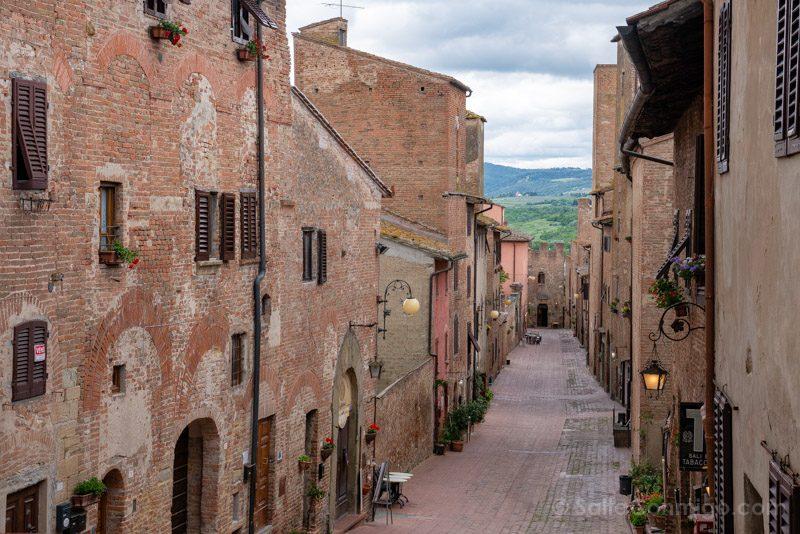 Pueblos Toscana Certaldo Calle