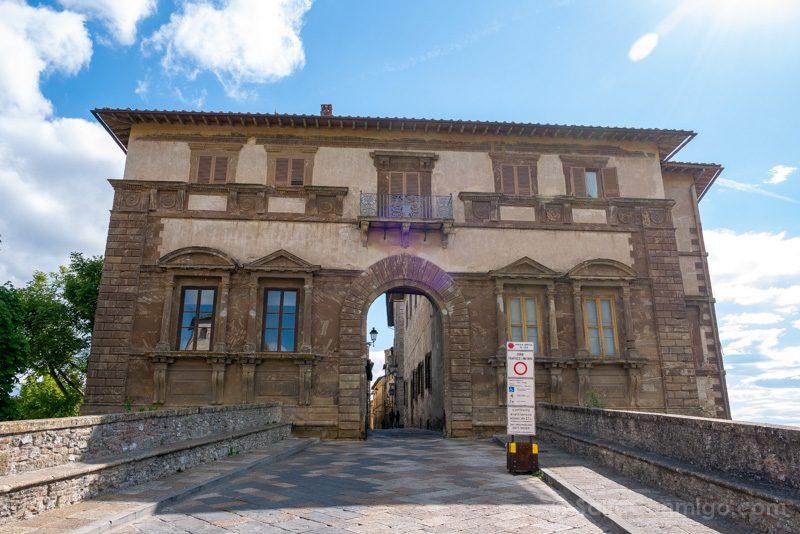 Pueblos Toscana Colle Val Elsa Puerta