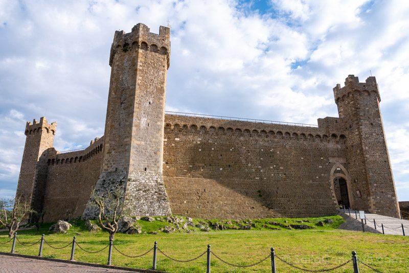 Pueblos Toscana Montalcino Rocca