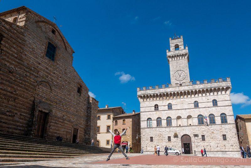 Pueblos Toscana Montelpuciano Salto