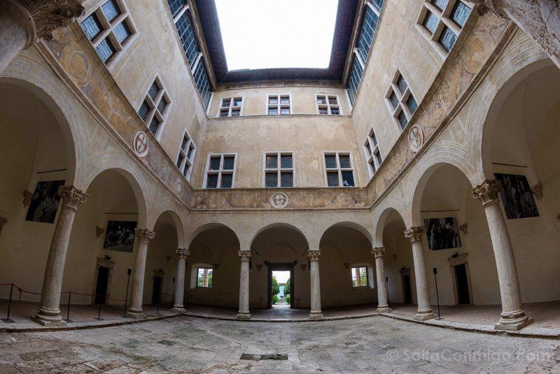 Pueblos Toscana Pienza Palazzo Piccolomini