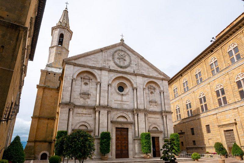 Pueblos Toscana Pienza Plaza Catedral