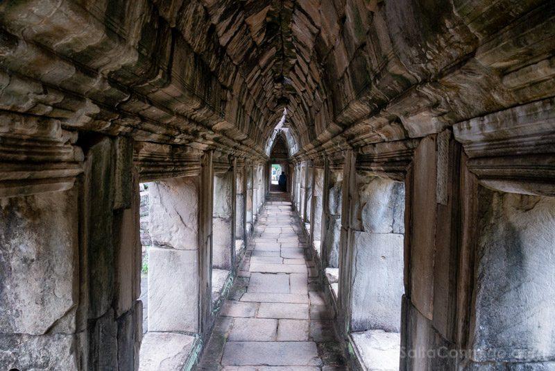 Que Ver en Angkor Thom Baphuon Pasillo