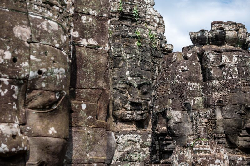 Que Ver en Angkor Thom BayonCaras Miradas