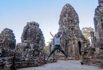 Que Ver en Angkor Thom Bayon Salto